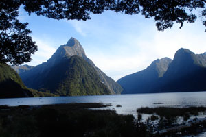 The Milford Sounds fjord. (Photo by Kristina Polk)