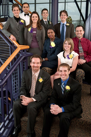 Albion College's 2011 Young Alumni Award honorees
