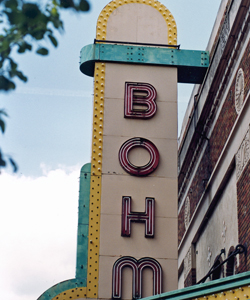 Albion's Bohm Theatre may be the recipient of the city's $10,000 Reader's Digest competition prize.