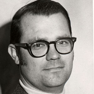 Frick's official College portrait circa 1970