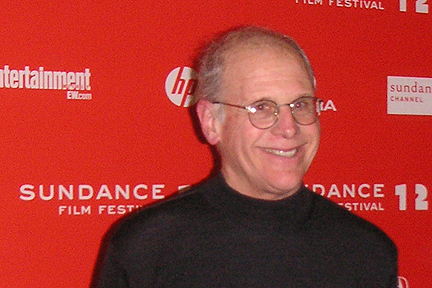 Albion College history professor Geoff Cocks walked the red carpet prior to the premiere of Room 237 at the Sundance Film Festival.