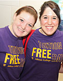 Students celebrate Tuition Free Day