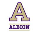 Albion College athletic A logo