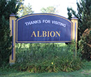 Albion sign