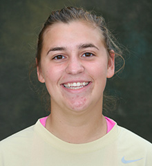 Alice Lalone is a biology and business and organizations major, a member of the Prentiss M. Brown Honors Program, and a forward on the women's soccer team.