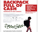 Poster for the documentary Backpack Full of Cash