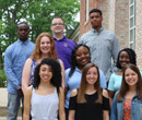 The Build Albion Fellows Class of 2023 includes (first row, from left) Eryn Lewis, Madisyn O'Dell, Sondra Sewell, (middle row, from left) Cassidy Porter, Jayonna Yahsha, Victory Stovall, (top row, from left) Terek Straham, Ian Lee and Larenz Hill. (Not pictured: Kei'Asianique Hill).