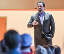Benjamin Jealous gave the 2016 Joseph S. Calvaruso Keynote at Albion College on April 21.