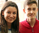 Julia Malecke, '17, and Julian Vandenberg, '17 helped create bringithomebrits.com