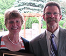 Carol Moss and Bob Moss, Albion College Kinesiology Department