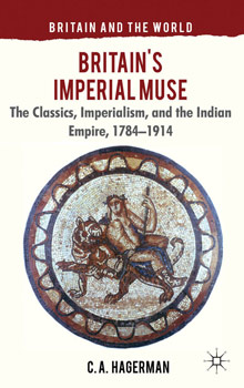 The cover of Albion College history professor Chris Hagerman's latest book, Britain's Imperial Muse.