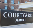 Courtyard by Marriott hotel in Albion, Michigan