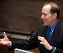 David Camp, '75, delivered the 2012 Aldrich Lecture in Law, Justice & Society at Albion College.