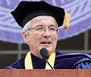Albion College President Mauri A. Ditzler