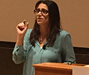 Dr. Mona Hanna-Attisha, a pediatrican from Flint, Michigan.