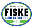 Albion College is among the institutions featured in the Fiske Guide to Colleges 2019.
