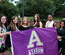 Albion College Ford Institute students at 2016 NCCWSL.