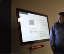 Google Jamboard in an Albion College classroom