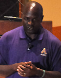 Twesigye Jackson Kaguri spoke at Albion College on September 13, 2012.