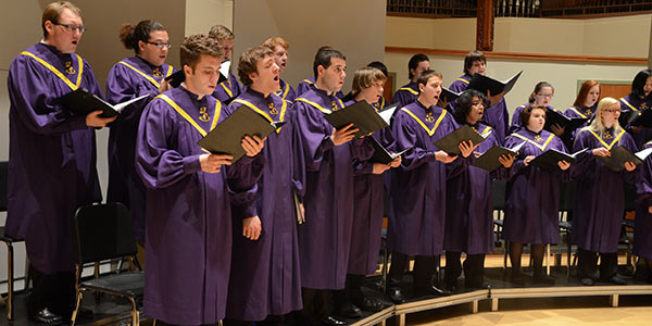 Albion College Concert Choir, Lessons and Carols, Goodrich Chapel