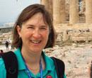 Jocelyn McWhirter in Athens