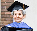 Miriam Winter received an honorary degree from Albion College at 2009 Commencement.