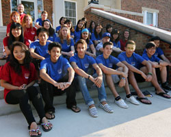 Albion's new international students represent 10 countries.