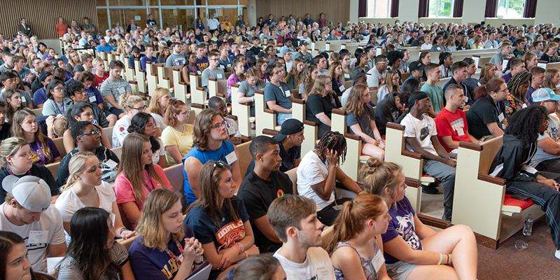 Albion College 2018 Move-In and Matriculation