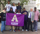 Part of a large contingent from Albion College and the City of Albion to visit Washington, D.C., Sept. 23-25 to celebrate the opening of the Smithsonian National Museum of African American History and Culture.