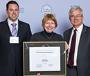 From left: Matt vandenBerg, Susan Conner, and Mauri Ditzler