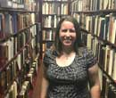 Elizabeth Palmer, '10, Marilyn Crandell Schleg Archivist and Special Collections Librarian