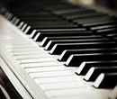 Piano keys (free stock photo)
