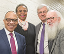 From left: Eugene Robinson, Mae Ola Dunklin, Mauri Ditzler, Wes Dick
