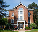 Robinson Hall, facing Hannah Street, Albion College
