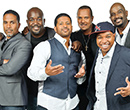 The members of the renowned vocal group Take 6