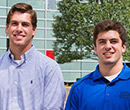 Tim Urso, '15 (left), and Brad Bogus, '16