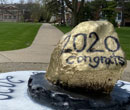 Albion College's Rock on the Quad celebrates the Class of 2020.