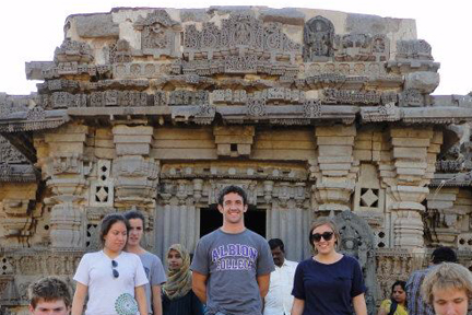 Wes Dolen, '13, studied at CIEE in Hyderabad, India.