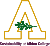 Albion College Year of Sustainability logo