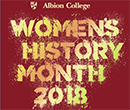 Women's History Month 2018 at Albion College