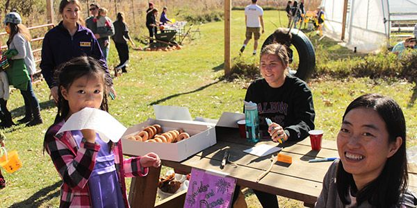 Farm Fest activities in the fall.
